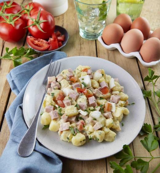 Salade Campagnarde (pommes de terre, jambon, persil)